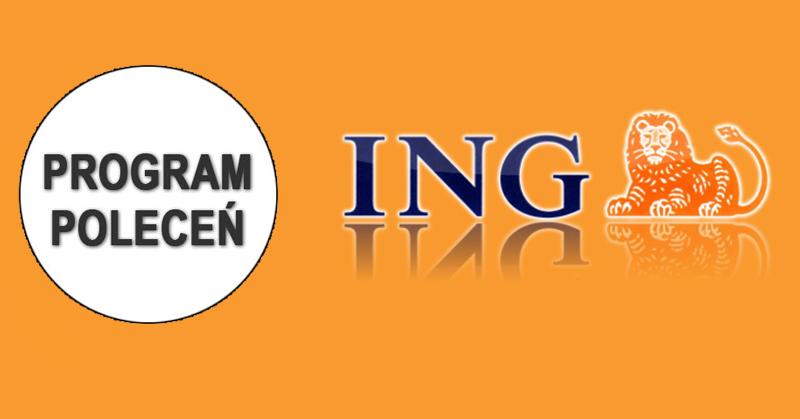 ING: 100 zł za polecenie konta oraz 50 zł dla poleconego + premie dodatkowe