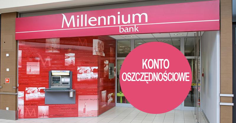 Konto oszczędnościowe 2,7% do 100 tys. zł w Millennium