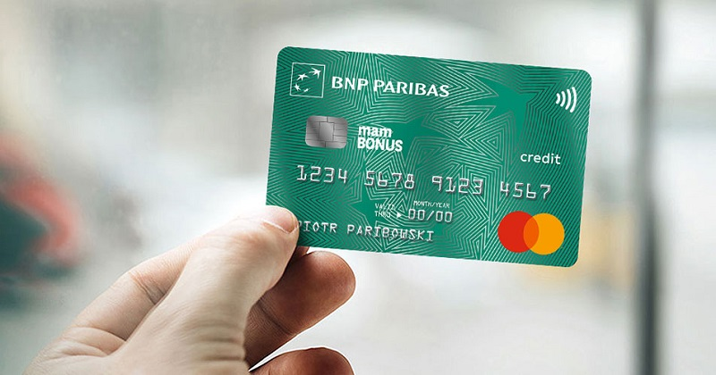 200 zł w nagrodach za kartę kredytową BNP Paribas